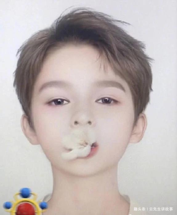 男星挑战宝宝滤镜,陈立农太Q,范成成没变化,第一名万万没想到