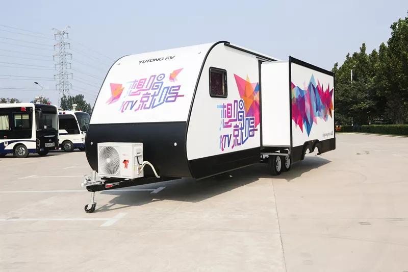 凯伦宾威KTV营地房车,在露营和大自然中嗨翻全场!