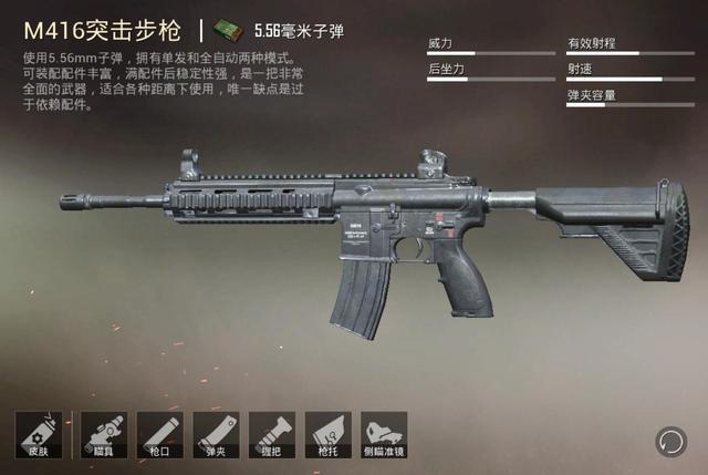 """和平精英:如果M416和UMP9一样被删除,谁会成为下一任""""枪王""""?"""
