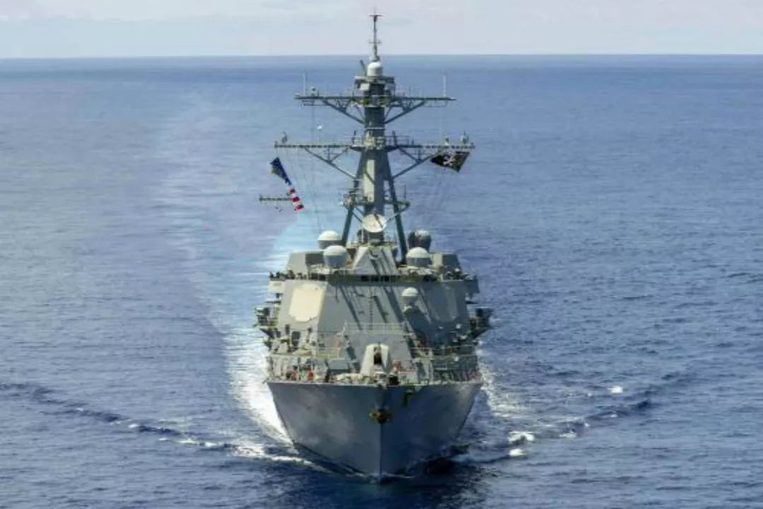 """东风眼皮底下""""自由航行""""?军舰情况尽收眼底,美军:全速撤离!"""