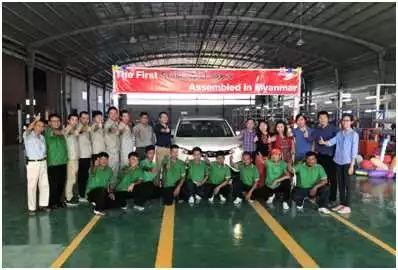 """响应""""一带一路""""拓展海外市场 东南汽车缅甸市场脱颖而出"""