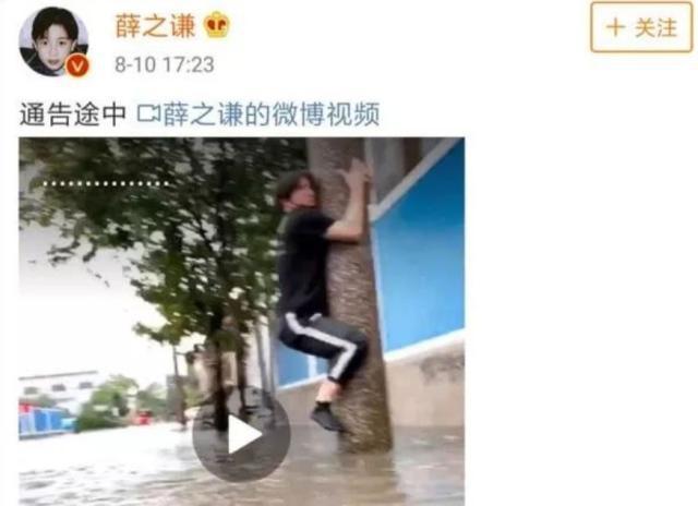 薛之谦拿洪水开玩笑被点名批评,结果他的粉丝竟忙着回怼、举报