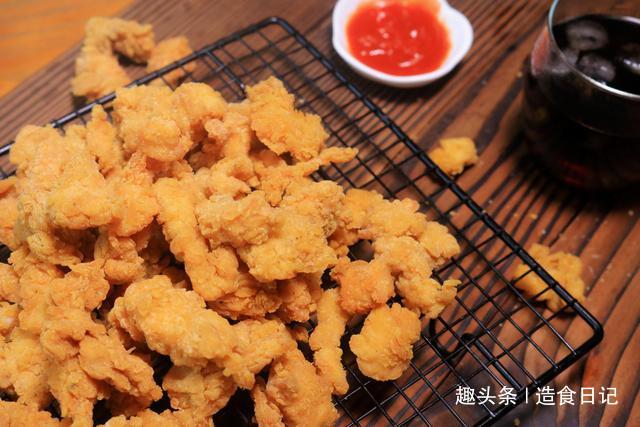 外边卖的鸡米花都加了嫩肉粉,不如自己在家做,无添加也外酥里嫩