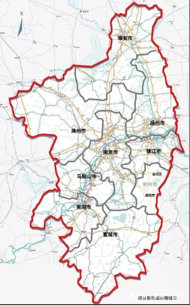 南京都市圈扩容,安徽省蚌埠宣布加入,苏北的兄弟们尴尬了