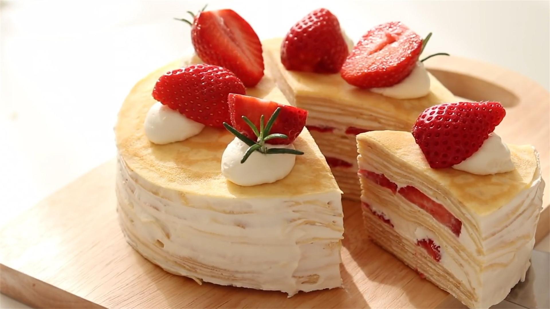 不用烤箱就能做的蛋糕来啦,步骤超级详细,可以跟着学哦