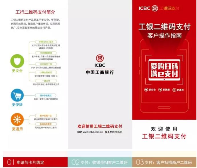 中国工商银行推出的商户收款二维码工具,如何办理?