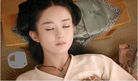 古装睡美人,本以为杨幂够迷人,不料图6仙女下凡美如画