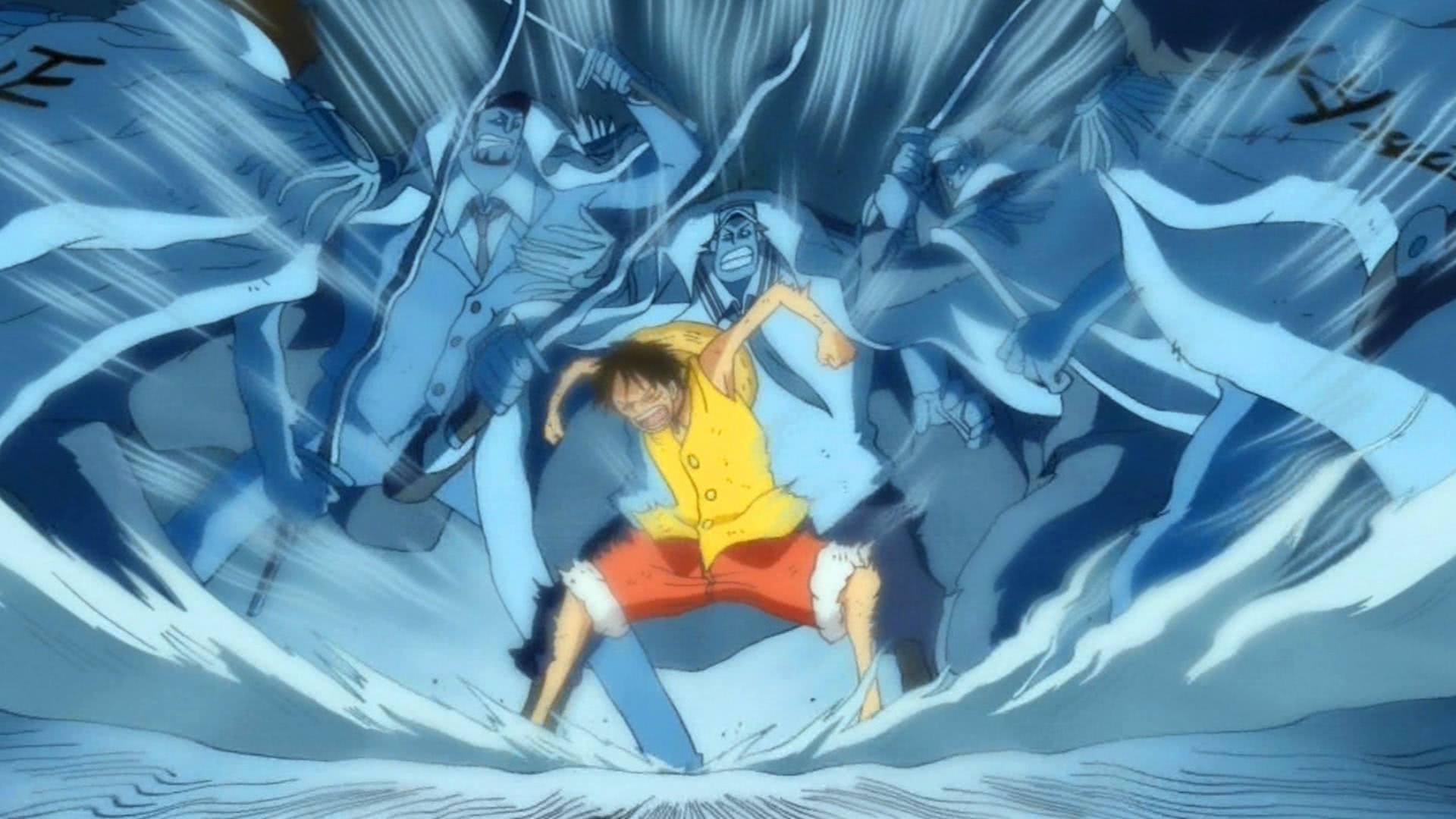 海贼王:霸王色爆发的瞬间,天都裂开了,太恐怖了!