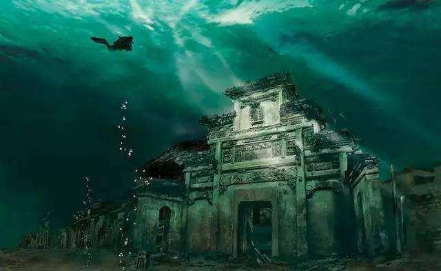 加勒比海底发现神秘城市,再次寻找却无端消失,难道真有海底人