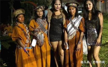 """巴西一部落太""""剽悍"""",族中只有女性存在,繁衍方式令人"""