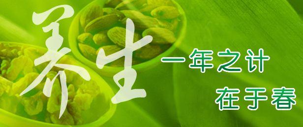 阳春3月,饮食要清温平淡,多吃1黄2绿,忌3事,顺应季节,身体棒