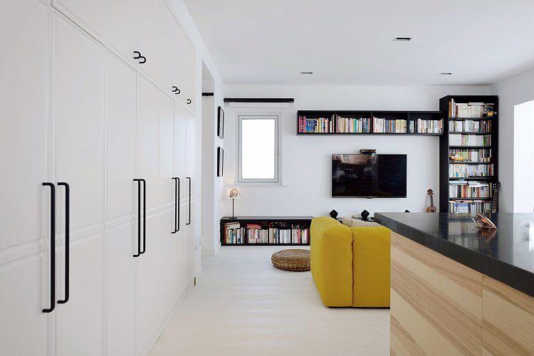 蓬莱装修:一幢65平方米的小房子,可以如此舒适和宽敞 蓬莱装修公司 蓬莱装修效果图 蓬莱鹤立装修 第4张