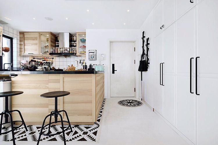 蓬莱装修:一幢65平方米的小房子,可以如此舒适和宽敞 蓬莱装修公司 蓬莱装修效果图 蓬莱鹤立装修 第5张