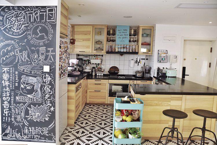 蓬莱装修:一幢65平方米的小房子,可以如此舒适和宽敞 蓬莱装修公司 蓬莱装修效果图 蓬莱鹤立装修 第11张