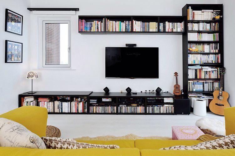 蓬莱装修:一幢65平方米的小房子,可以如此舒适和宽敞 蓬莱装修公司 蓬莱装修效果图 蓬莱鹤立装修 第14张