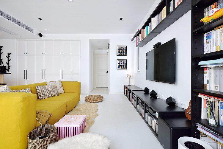 蓬莱装修:一幢65平方米的小房子,可以如此舒适和宽敞 蓬莱装修公司 蓬莱装修效果图 蓬莱鹤立装修 第15张