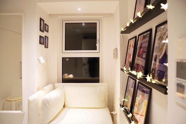 蓬莱装修:一幢65平方米的小房子,可以如此舒适和宽敞 蓬莱装修公司 蓬莱装修效果图 蓬莱鹤立装修 第29张