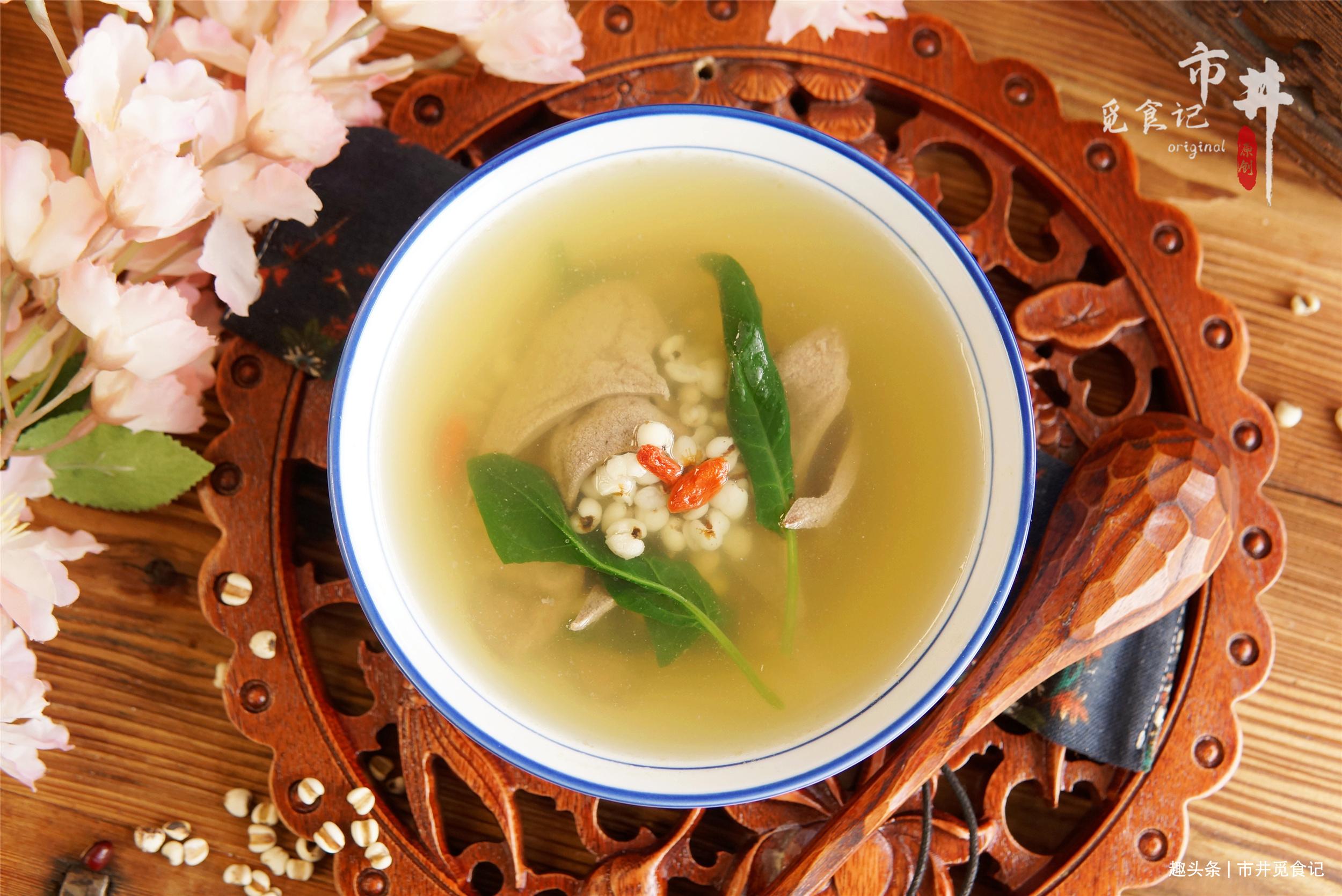 """明日谷雨,记得给家人做薏米养肝汤,饮食""""春养肝"""",健康过春天"""