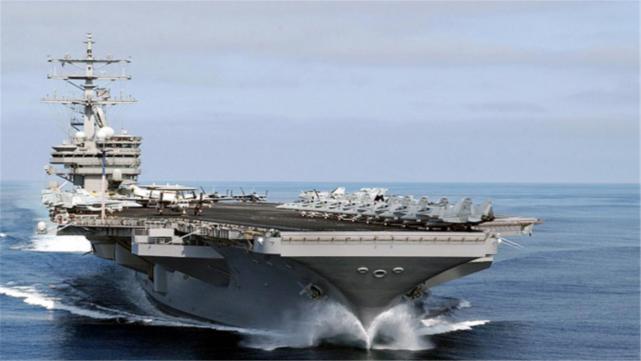 美航母最怕的不是导弹?大国已研发关键利器,1枚可报废一个编队