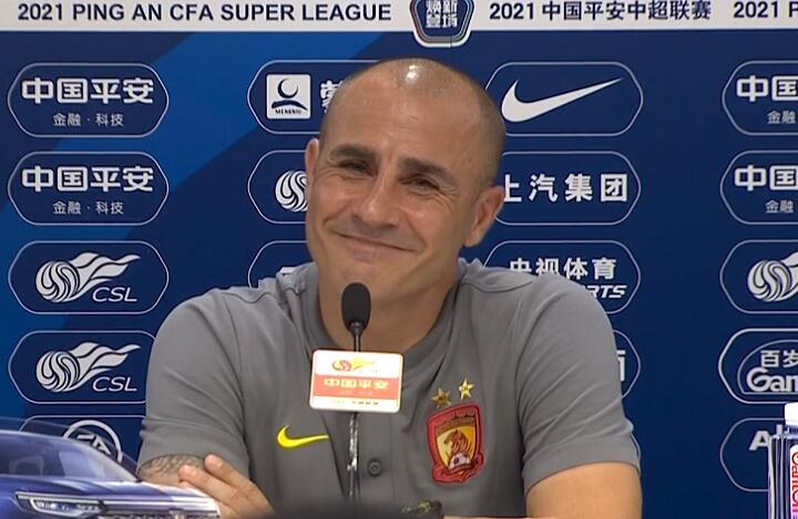 广州升至A组第二,卡纳瓦罗解释韦世豪缺席,表态自己想立刻回家