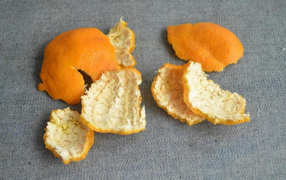 小小橘子皮内有大能量,护发养发都用它