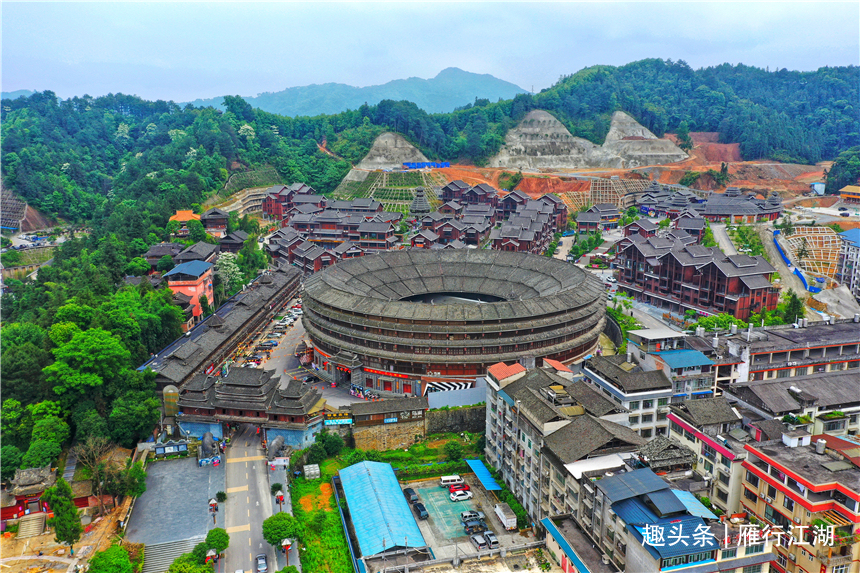 广西这个县城有个侗族鸟巢,7000万打造的精美演出,充满浪漫色彩