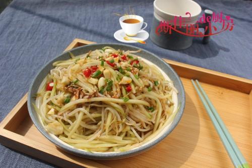 天热就想吃凉菜,拌一拌3分钟能上桌做法超简单,清凉爽口减肥