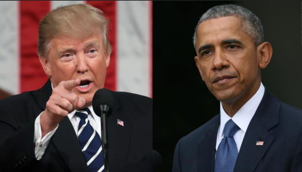 安排特朗普和奥巴马见个面!❗️❗️为了拯救美国?❓❓还是为了流量赚钱?❓❓