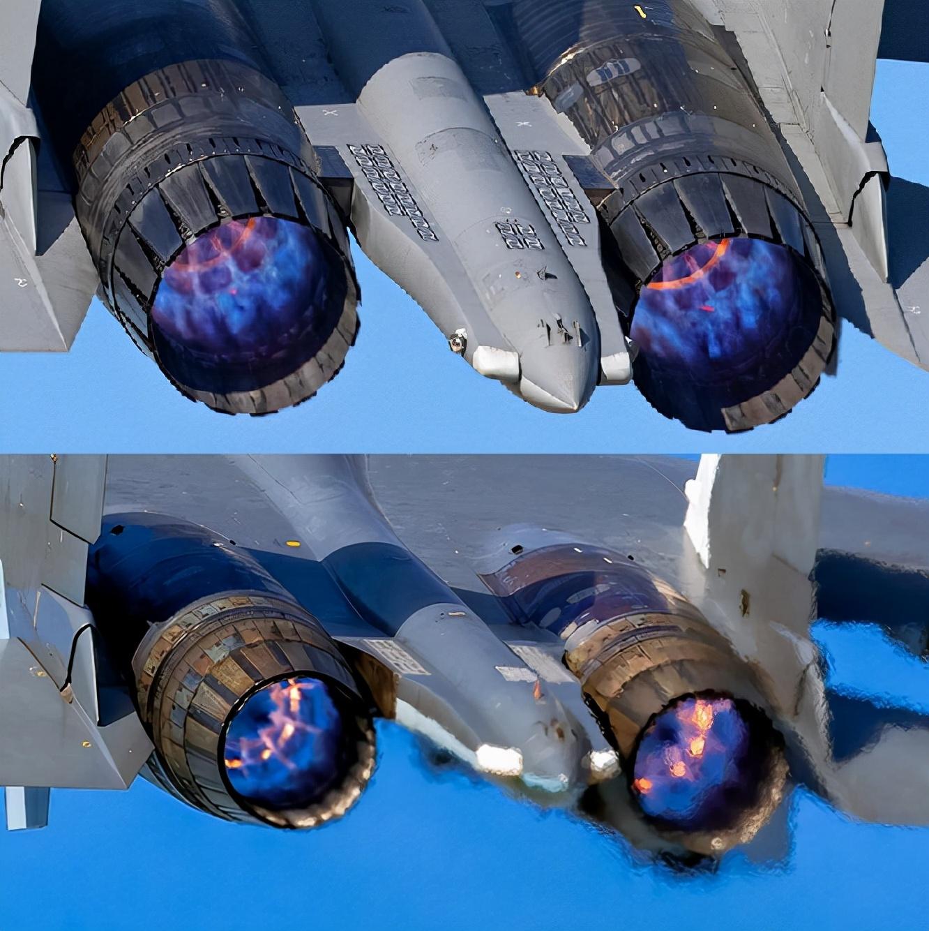 机尾战斗机结晶最漂亮主流喷口