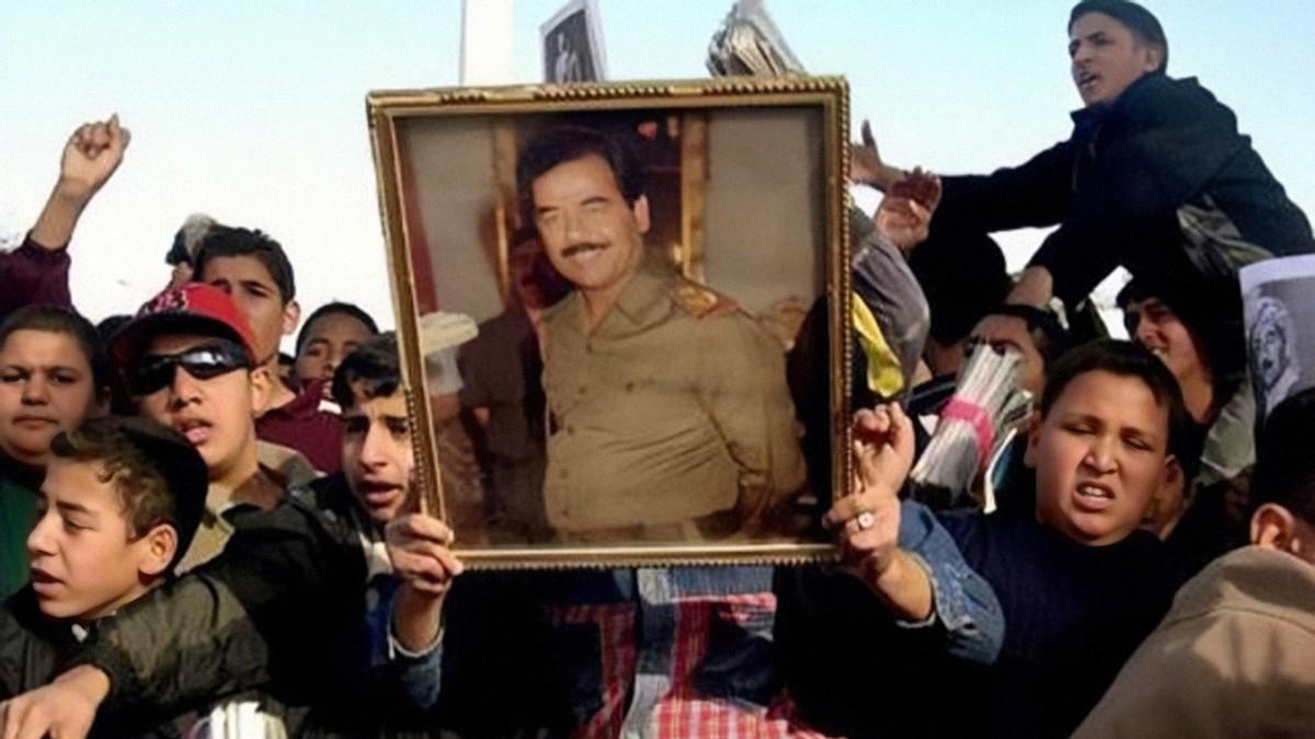 头套萨达姆死刑整晚黑色被折磨人员