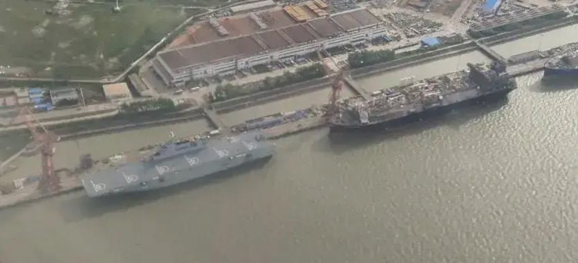 """075型2号舰,命名为32""""广西""""舰,或将在国庆期间服役"""
