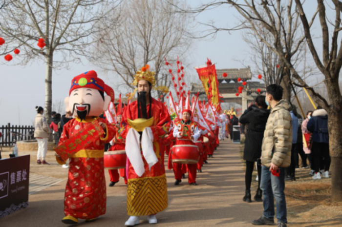 """陜西白鹿原影視城邀您""""陜""""味十足鬧新春"""