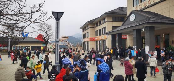 火爆!這個春節,貴州九仙旅游景區備受青睞