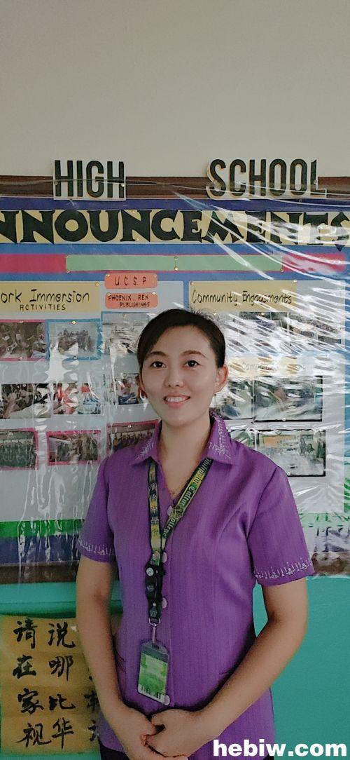 菲律賓支教的李靜文:要讓更多人愛上中國文化