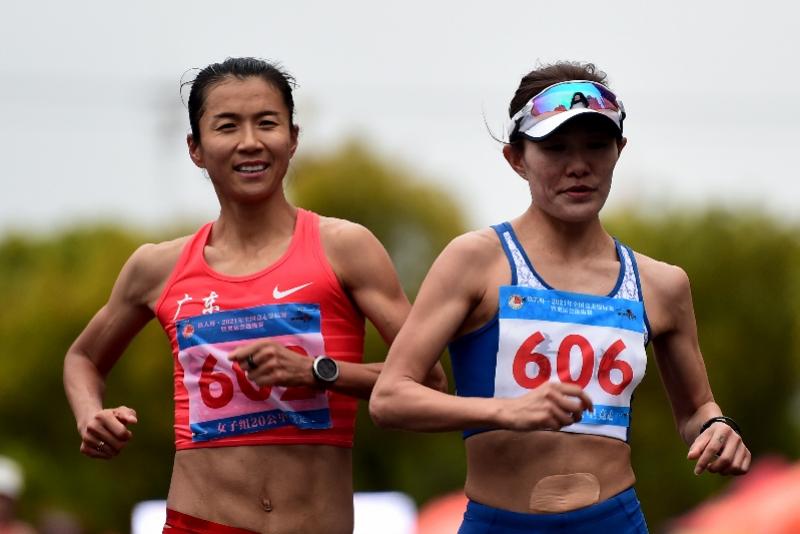 楊家玉劉虹雙雙打破女子20公里競走世界紀錄
