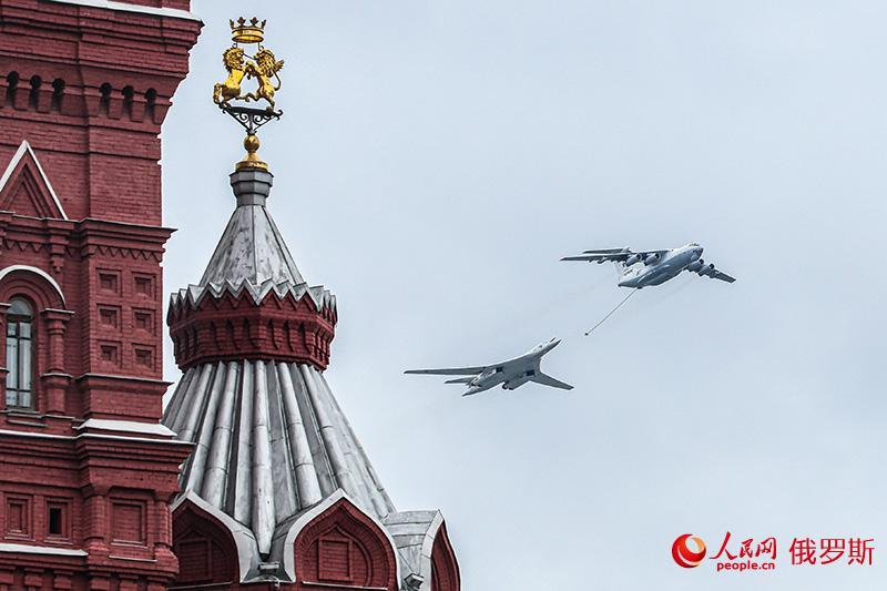 纪念卫国战争胜利76周年阅兵仪式在莫斯科红场举行
