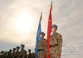 马里中国维和部队