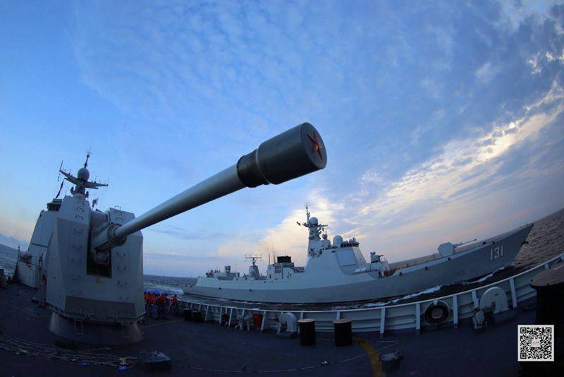战区舰艇驱逐舰支队昼夜海军